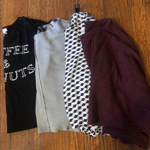 4 Forever 21 Shirts
